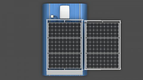 Sliding Solar Panel Rack Systems (Kit Components)