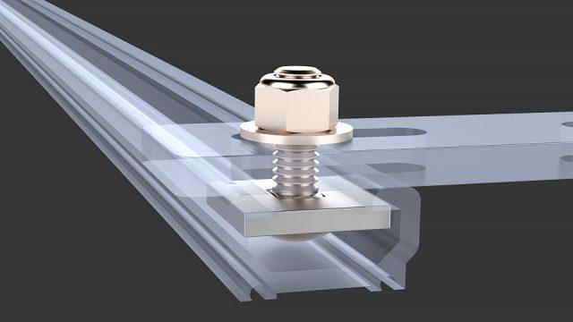 """Mounting Hardware Kit: Mercedes Sprinter (VS30/NCV3) OEM Roof Rail, 1.0"""" Bolt"""