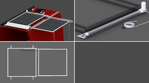 Sliding Solar Panel Rack Systems (Kits & Components)